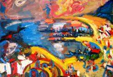 Fauvistisch schilderij Málaga kunstenaar Tibo van de Zand zoon van Jits Bakker