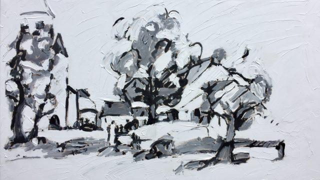 Schilderij Weris
