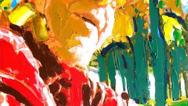 Jits Bakker schilderij