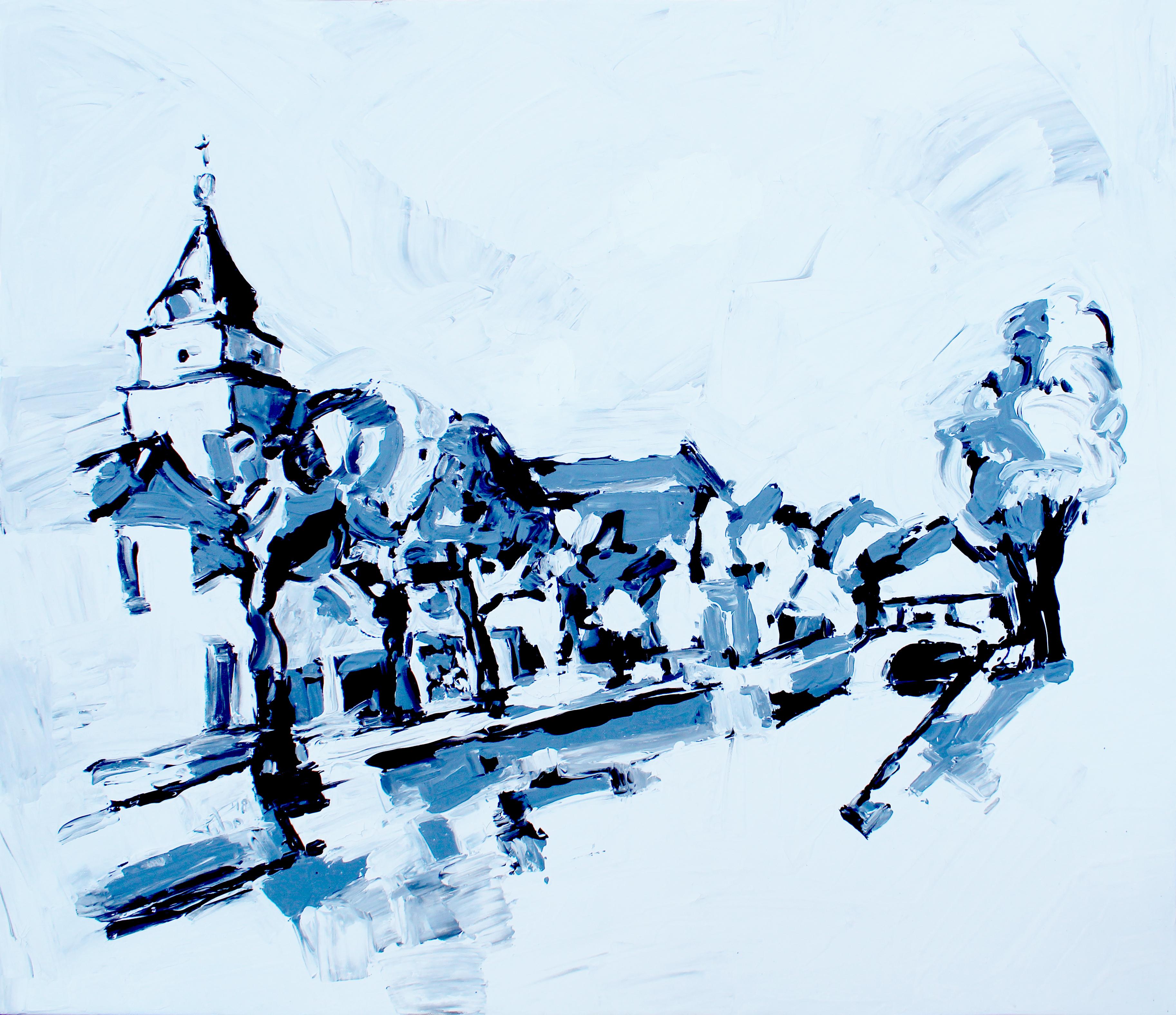 Schoonhoven, schilderij, arcylverf
