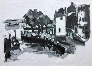 Dordrecht, schilderij